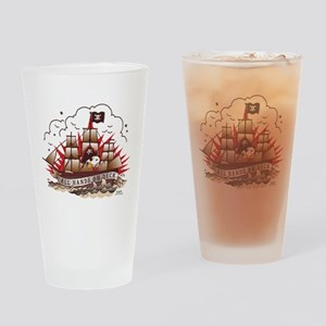 Peanuts All Hands on Deck Drinking Glass