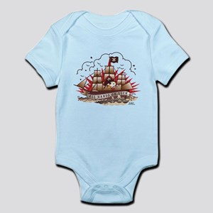 Peanuts All Hands on Deck Infant Bodysuit