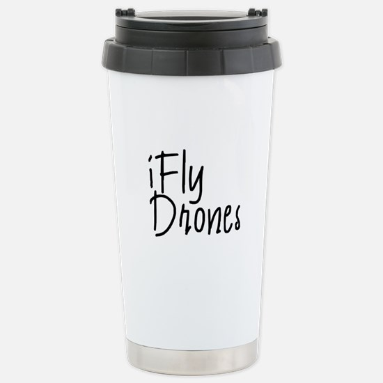 iFly Drones Stainless Steel Travel Mug