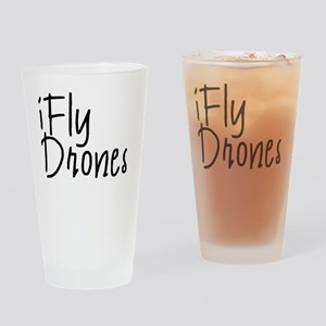 iFly Drones Drinking Glass