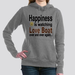 Happiness Is Watching Th Women's Hooded Sweatshirt