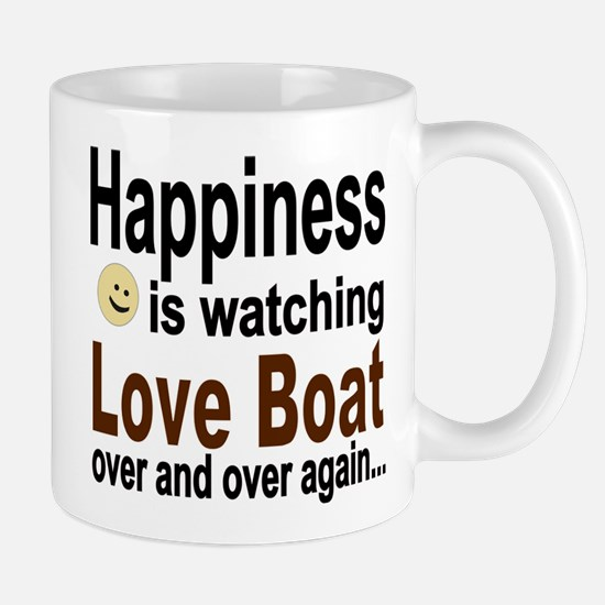 Happiness Is Watching The Love Boat Mugs