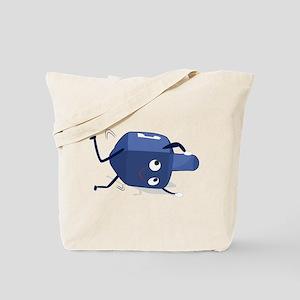 dreidel spining shadow Tote Bag