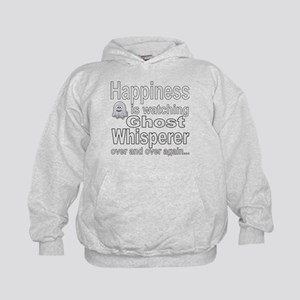 Happiness Is Watching Ghost Whisperer Kids Hoodie