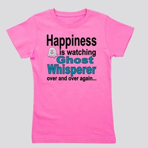 Happiness Is Watching Ghost Whisperer Girl's Tee