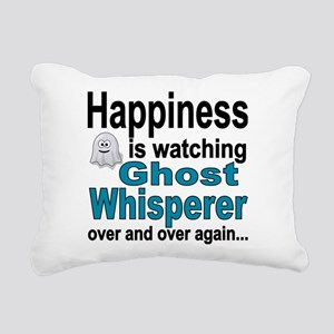 Happiness Is Watching Gh Rectangular Canvas Pillow