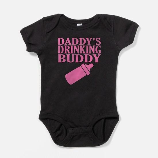 Daddy's Drinking Buddy Baby Bodysuit