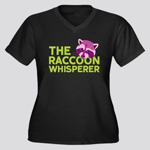 Raccoon Whisperer Plus Size T-Shirt