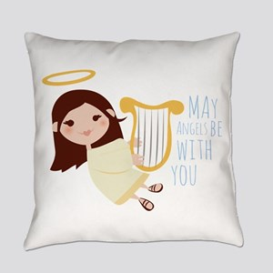 Angels With You Everyday Pillow