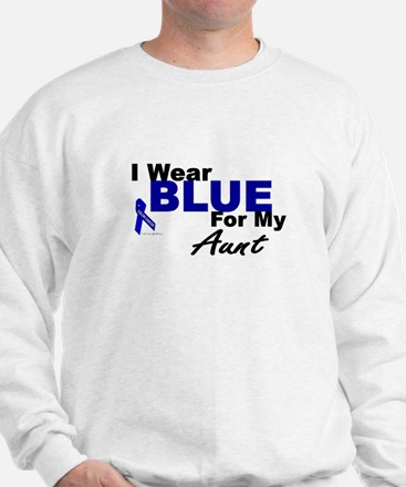 I Wear Blue 3 (Aunt CC) Sweatshirt