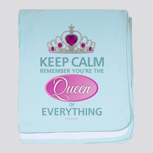 Keep Calm - Queen baby blanket