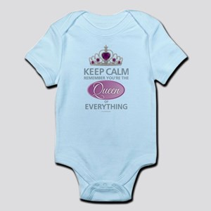 Keep Calm - Queen Body Suit