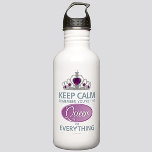 Keep Calm - Queen Stainless Water Bottle 1.0L