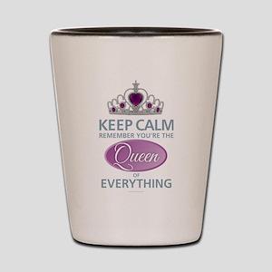 Keep Calm - Queen Shot Glass