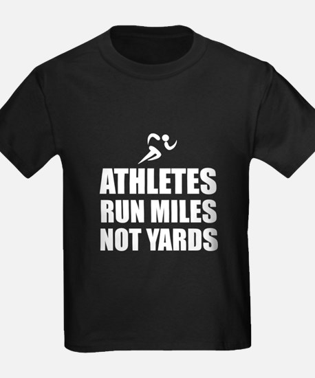Athletes Run Miles T-Shirt
