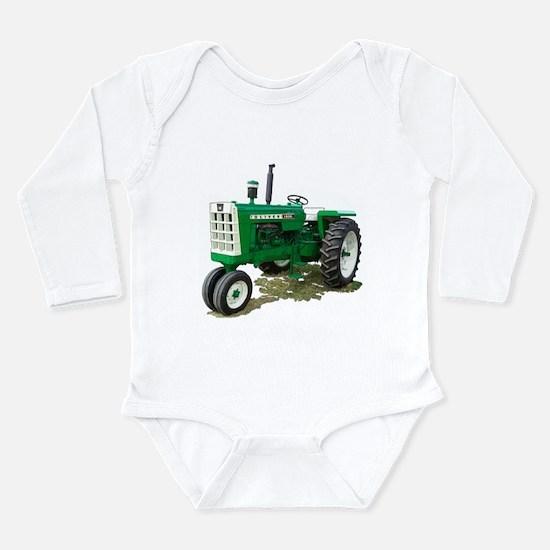 Cool Oliver tractor Long Sleeve Infant Bodysuit