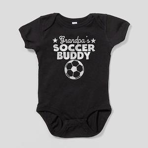 Grandpa's Soccer Buddy Baby Bodysuit