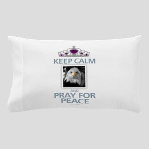 Keep Calm - Peace Pillow Case