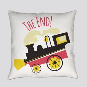 The End! Everyday Pillow
