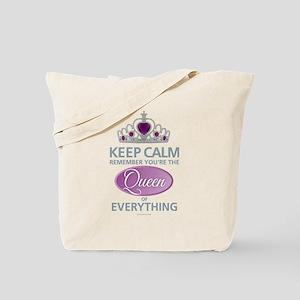 Keep Calm - Queen Tote Bag