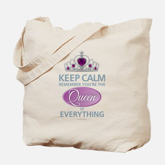 Keep Calm - Queen Tote Bag