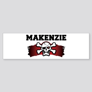 makenzie is a pirate Bumper Sticker