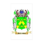 McCribben Sticker (Rectangle 50 pk)
