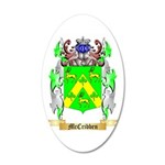 McCribben 20x12 Oval Wall Decal