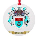 McCreevy Round Ornament