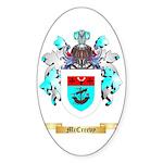 McCreevy Sticker (Oval 50 pk)