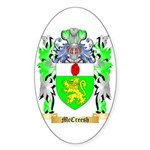 McCreesh Sticker (Oval 10 pk)