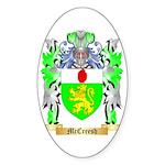 McCreesh Sticker (Oval 50 pk)