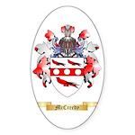 McCreedy Sticker (Oval)