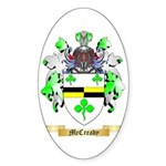 McCready Sticker (Oval 50 pk)