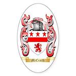 McCraith Sticker (Oval 50 pk)