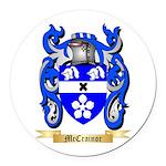 McCrainor Round Car Magnet