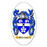 McCrainor Sticker (Oval 50 pk)