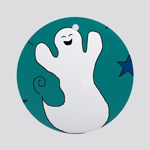 JOLLY GHOST Ornament (Round)