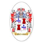 McCracken Sticker (Oval 50 pk)