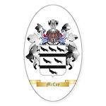 McCoy Sticker (Oval 50 pk)