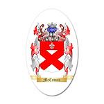 McCowan 35x21 Oval Wall Decal