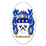McCourt Sticker (Oval)