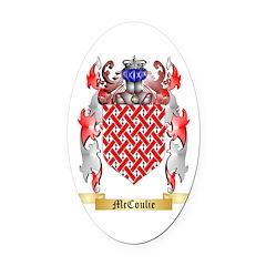 McCoulie Oval Car Magnet