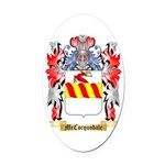 McCorquodale Oval Car Magnet