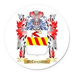 McCorquodale Round Car Magnet