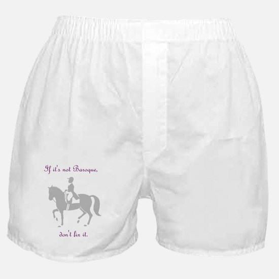 if its not baroque.JPG Boxer Shorts