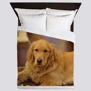 Nala the golden inside Queen Duvet