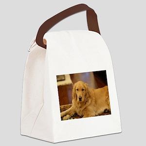 Nala the golden inside Canvas Lunch Bag