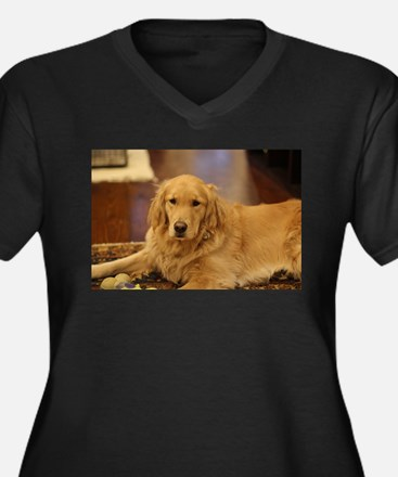 Nala the golden inside Plus Size T-Shirt