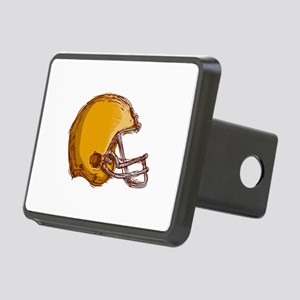 American Football Helmet Drawing Hitch Cover